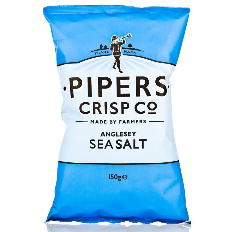 Pipers Sea Salt Crisps - 150g