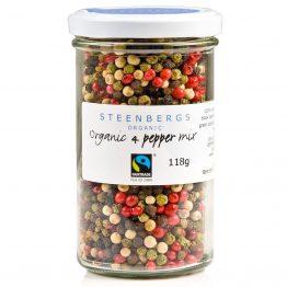 Steenbergs 4 Colour Peppercorns