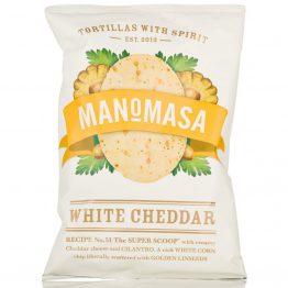 Manomasa White Cheddar Tortillas
