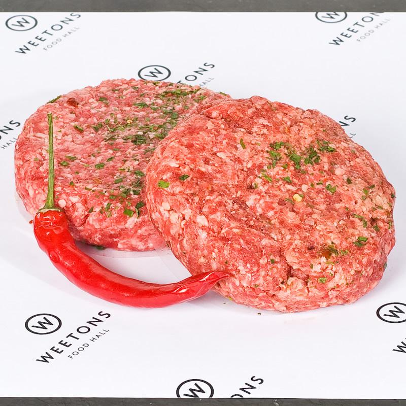 Beef Steak Chilli Burger