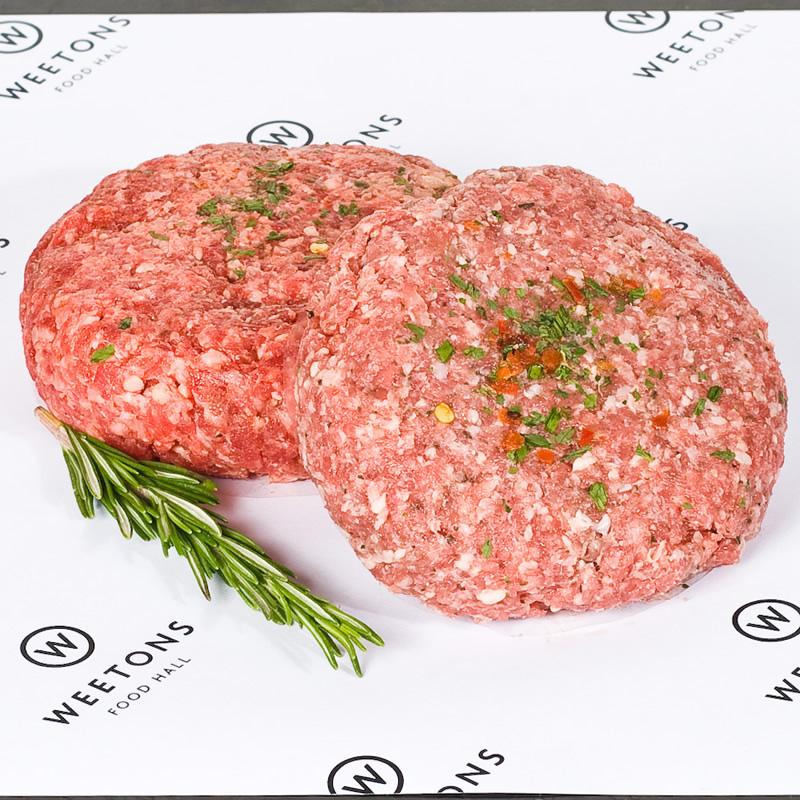 Lamb & Mint Steak Burger