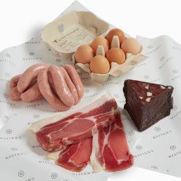 Meat Box Breakfast