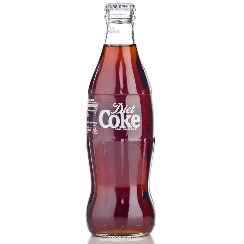 Diet Coca Cola - 330ml Bottle
