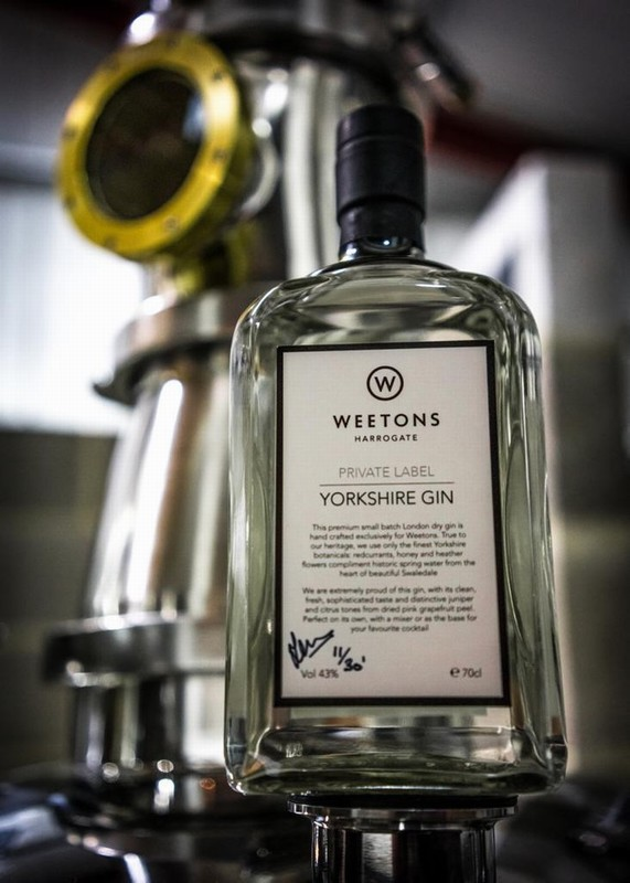 Weetons Private Label Yorkshire Gin