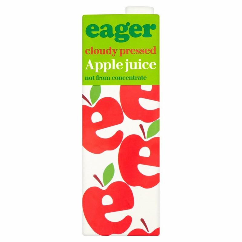 Eager Apple Juice Carton