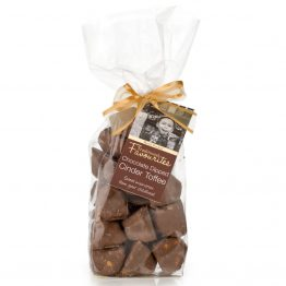 Chocolate Dipped Cinder Toffee