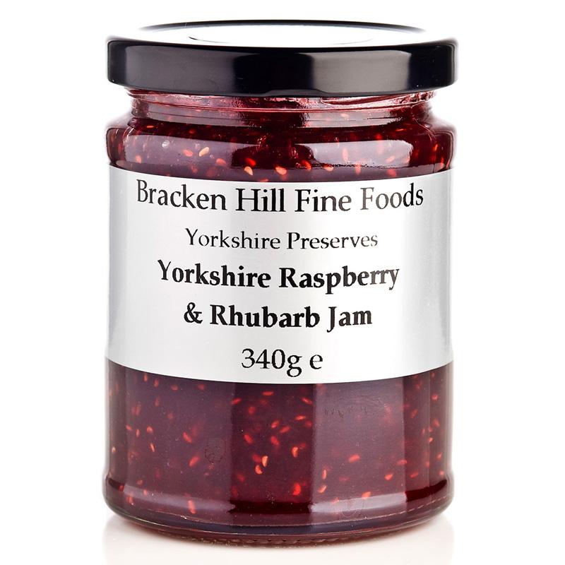 Bracken Hill Raspberry & Rhubarb Jam