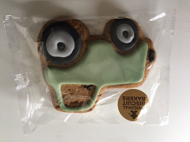 Image on Food - Tractor Biscuit