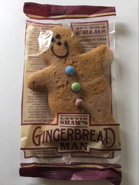 Lottie Shaws Ginger Bread Man