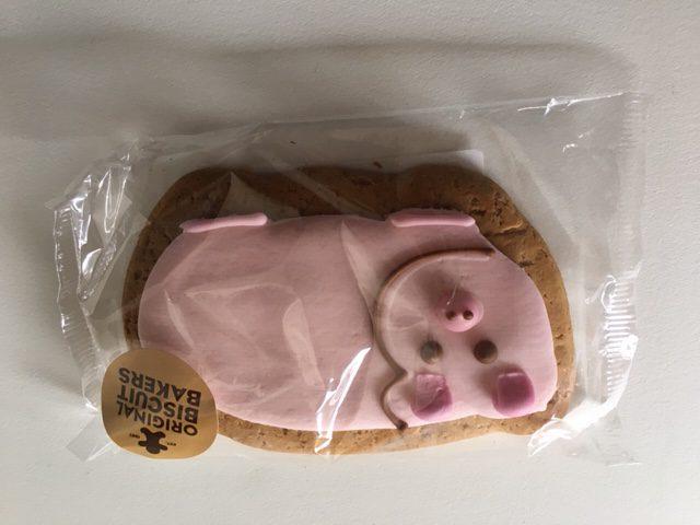 Image on Food GingerBread Pig Biscuit