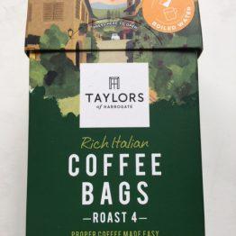 Taylors Rich Italian Coffee Bags