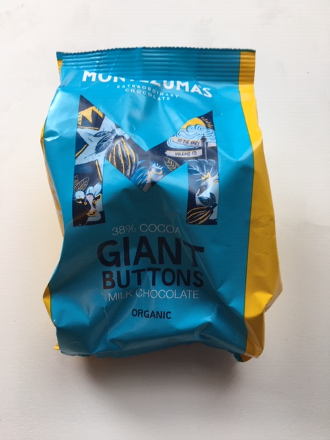 Montezuma Milk Chococlate Buttons