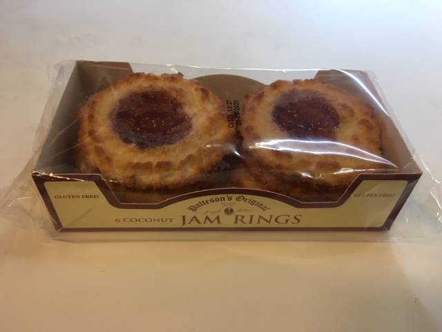 Pattersons Coconut Jam Rings