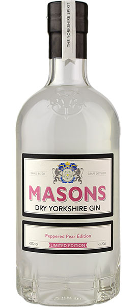 Masons Gin Yorkshire Peppered Pear Edition