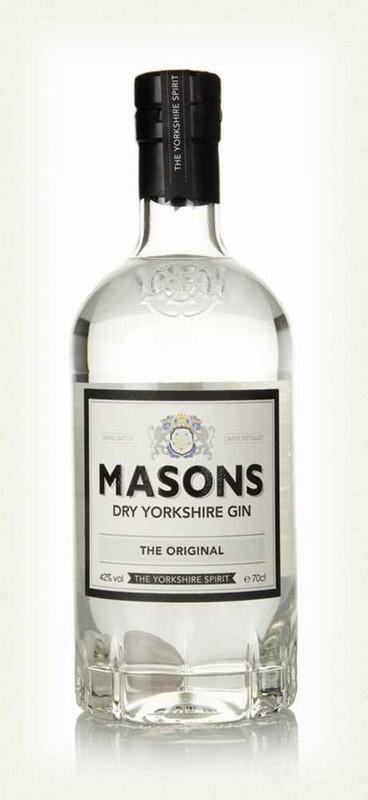 Masons Dry Yorkshire Gin