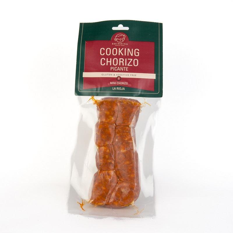 Brindisa Cooking Chorizo Picante