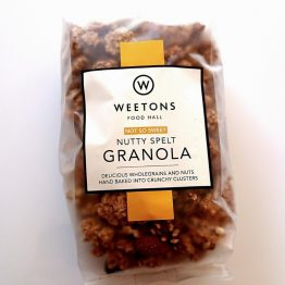 Weetons Not So Sweet Nutty Granola