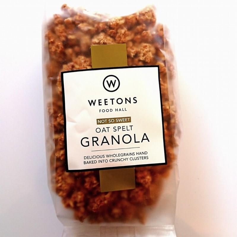 Weetons Not So Sweet Oat Spelt Granola