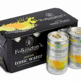 Folkington's Indian Tonic Water Cans  8x150ml