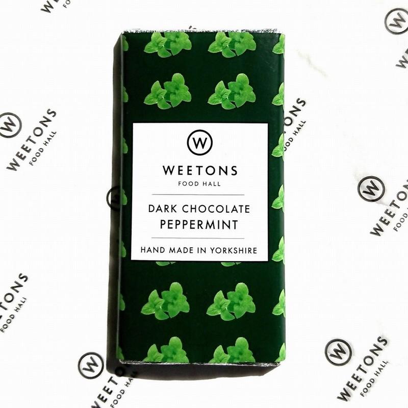 Weetons Peppermint Dark Chocolate Bar