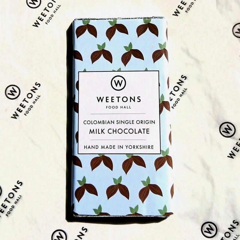 Weetons Columbian Milk Chocolate Bar