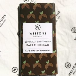 Weetons Columbian Dark Chocolate Bar