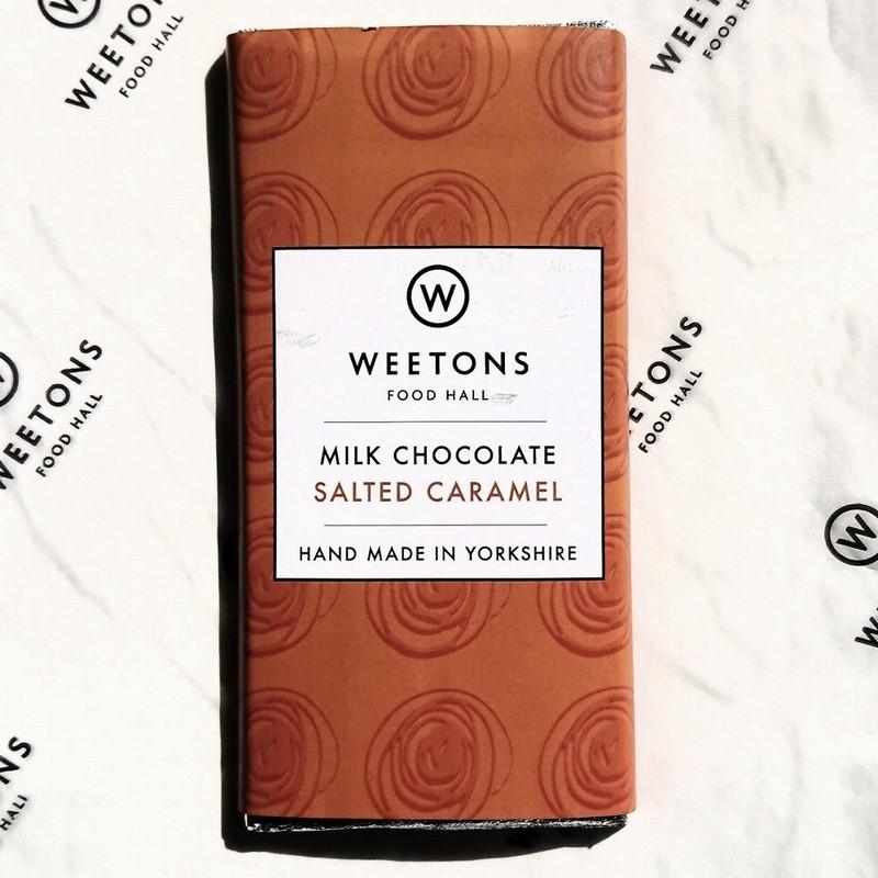 Weetons Salted Caramel Milk Chocolate Bar