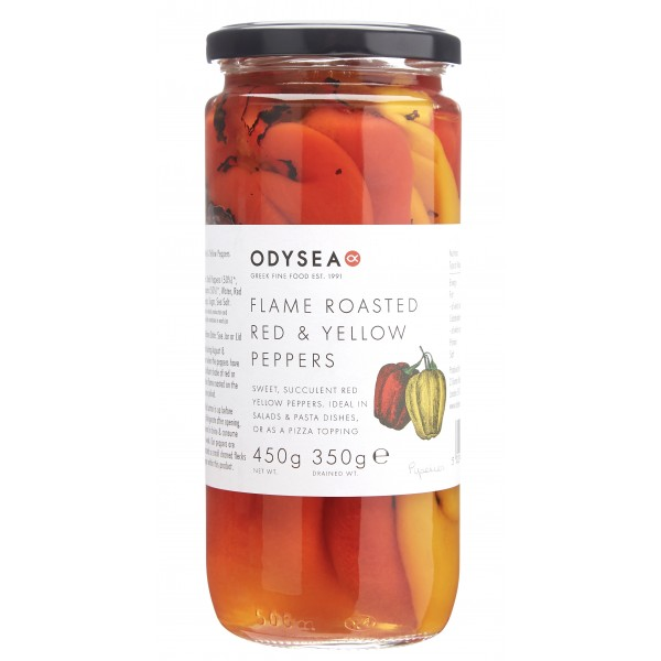 Odysea Roasted Red & Yellow Peppers