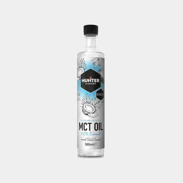 Hunter & Gather MCT Oil 100% Coconut 500ml