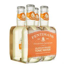 Fentimans Valencian Orange Tonic Water 4 pack
