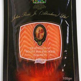 John Ross Traditional Smoked Salmon 100g