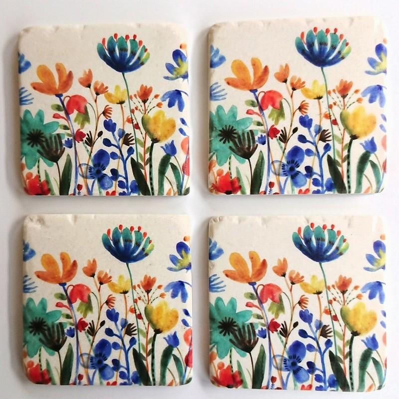Gisela Graham Coasters Summer Meadow