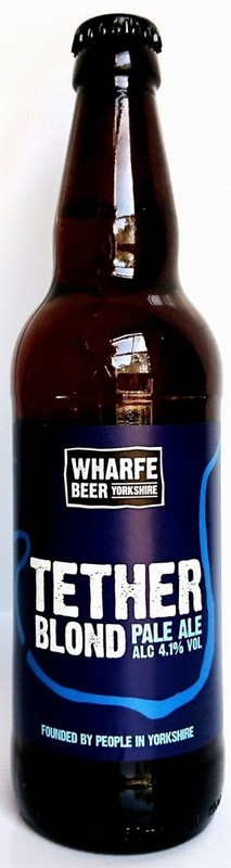 Wharfe Bank Brewery Tether Blond Pale Ale 500ml
