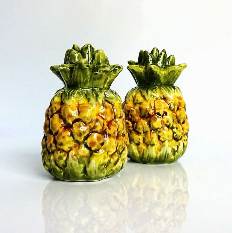 Gisela Graham Pineapple Salt and Pepper Set