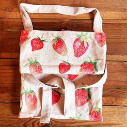 Gisela Graham Apron Strawberry