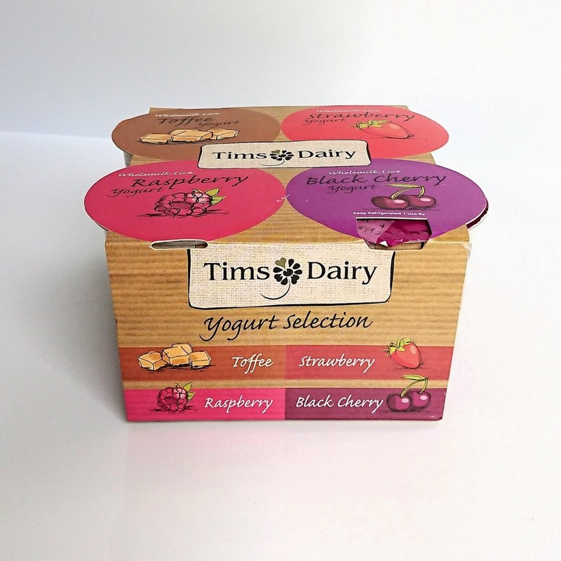 Tims Dairy Wholemilk Live Yoghurt Selection Pack