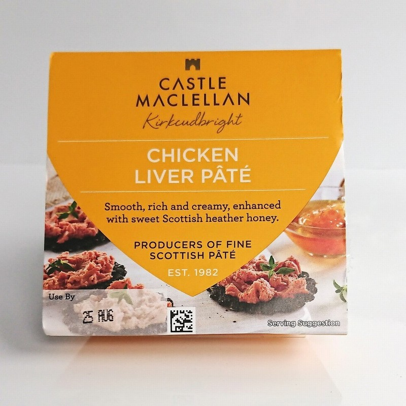 Castle Maclellan Chicken Liver Pate