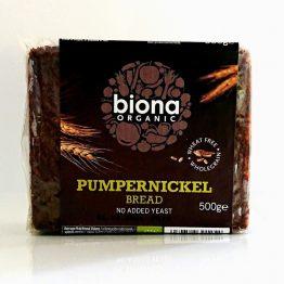Biona Organic Pumpernickel Bread 500g