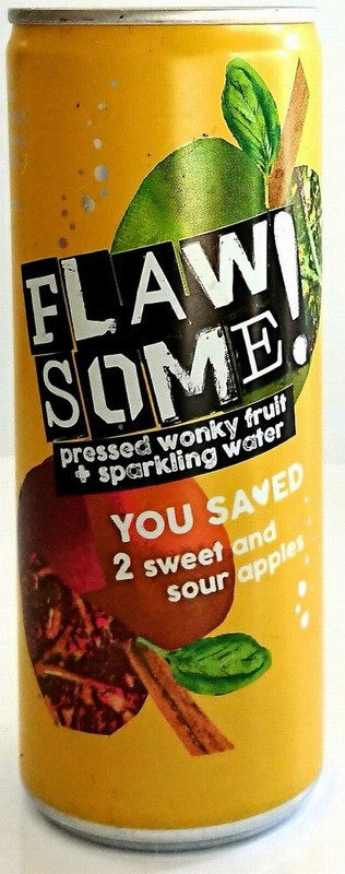 Flawsome! Sweet and Sour Apple Sparkling Drinkl 250ml
