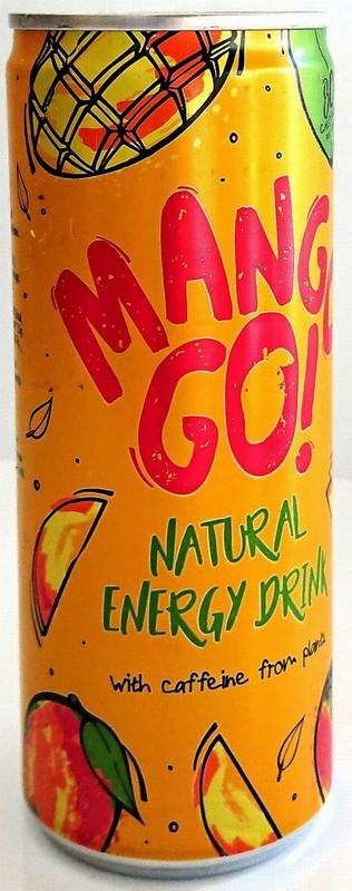 Mangogo Natural Energy Drink 250ml