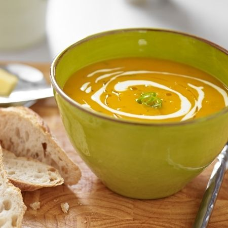 Curried Sweet Potato and Parsnip Soup
