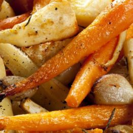Balsamic Root Vegetable Selection