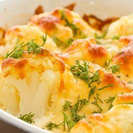 Cauliflower Cheese