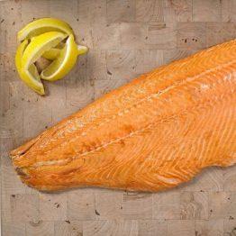 Roast Smoked Side of Salmon