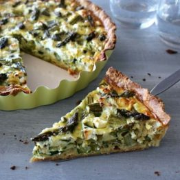 Quiche -  Butternut Squash, Courgette and Goats Cheese