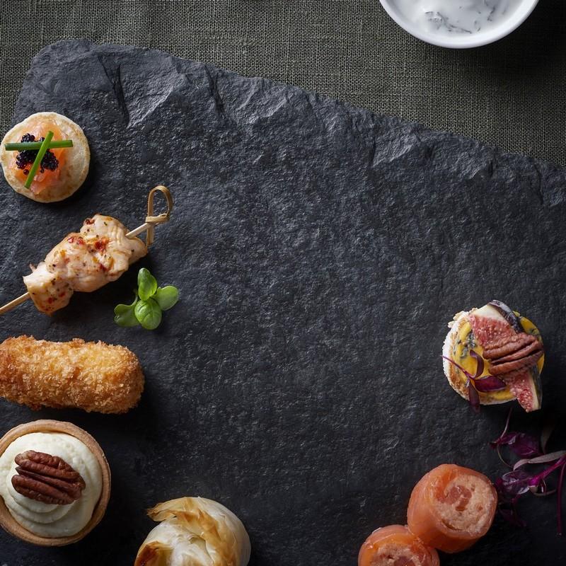Canape - Smoked Salmon Roulade