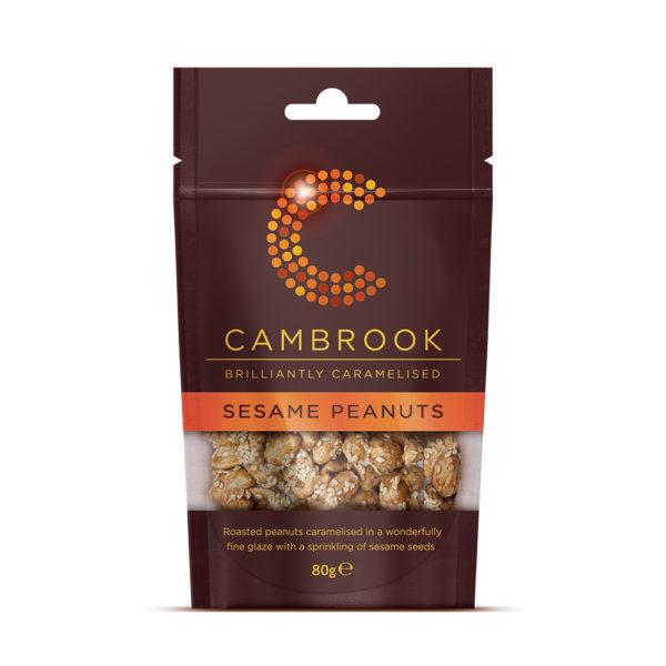 Cambrook Caramelised Sesame Peanuts
