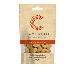 Cambrooks Baked Salted Cashews