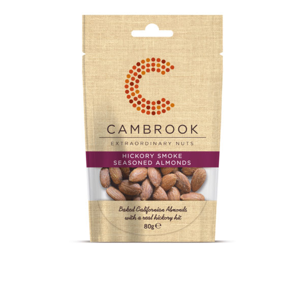 Cambrook Hickory Smoke Seasoned Almonds