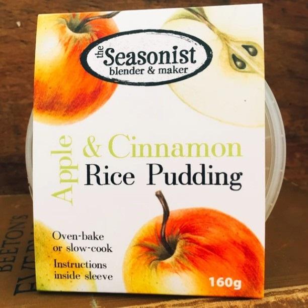 The Seasonist Apple and Cinnamon Rice Pudding